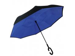 Зонт обратного сложения Up-brella Синий (hubber-216)