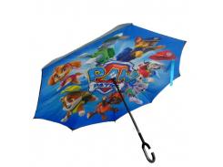 Зонт обратного сложения Up-brella Щенячий патруль (hubber-294)