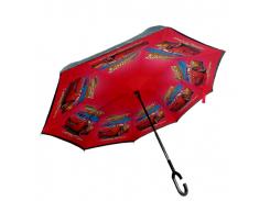 Зонт обратного сложения Up-brella Тачки (hubber-292)