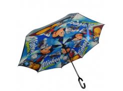 Зонт обратного сложения Up-brella Mickey Mouse (hubber-296)