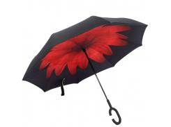 Зонт обратного сложения Up-brella Красная астра (hubber-273)