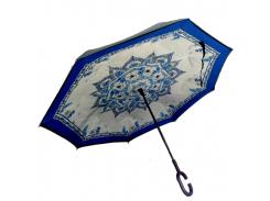 Зонт обратного сложения Up-brella Волшебный узор (hubber-283)