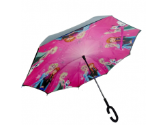 Зонт обратного сложения Up-brella  Frozen Pink (hubber-299)