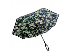 Зонт обратного сложения Up-brella Цветочная поляна (hubber-232)