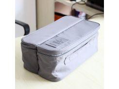 Органайзер для нижнего белья Packing Travel Серый (ja00373)