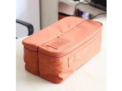 Органайзер для нижнего белья Packing Travel Оранжевый (qw00373)