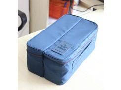 Органайзер для нижнего белья Packing Travel Темно-синий (ks00373)