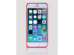 Металлический бампер Nillkin Gothic Series для Apple iPhone 6/6s Красный (31406)