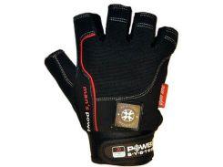 Перчатки для фитнеса и тяжелой атлетики Power System Man's Power PS-2580 S Black (VZ55PS-2580_S_Black)