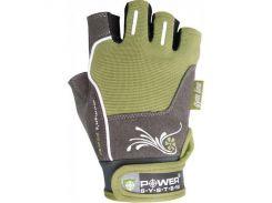 Перчатки для фитнеса и тяжелой атлетики Power System Woman's Power PS-2570 M Green (VZ55PS-2570_M_Green)