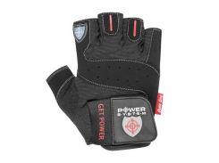 Перчатки для фитнеса и тяжелой атлетики Power System Get Power PS-2550 XS Black (VZ55PS-2550_XS_Black)