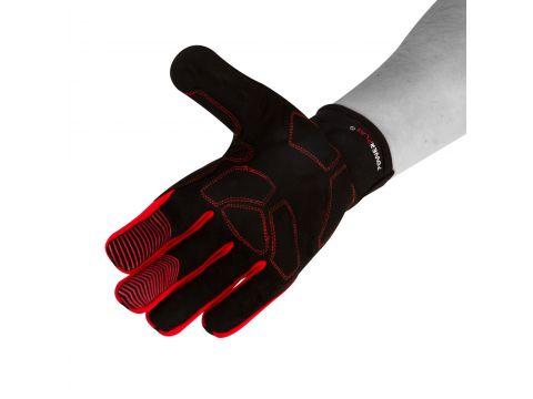 Велорукавички PowerPlay 6607 L Чорно-червоні (PP_6607_L_Red/Black) Киев