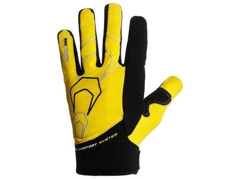 Велорукавички PowerPlay 6556 XL Жовті (6556_XL_Yellow)