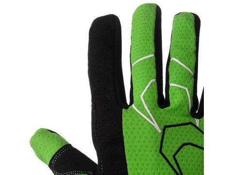 Велорукавички PowerPlay 6556 А M Зелені (6556A_M_Green)