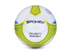 Футбольный мяч Spokey Velocity SHINOUT размер 5 White-Yellow (s0220)