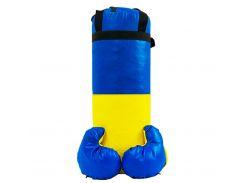 Боксерский набор средний d=18 Синий с желтым (3080)