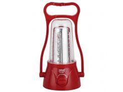 Фонарь-лампа с аккумулятором YJ с 35 светодиодами Красный (5827)