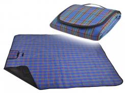 Коврик для пикника и пляжа 145x180 см Blue (Max05)