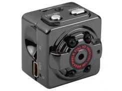 Мини камера SQ8 с датчиком движения и ночным видением Черный (8957)