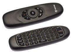 Гироскопический Пульт MiniX Air Mouse C120 с QWERTY клавиатурой
