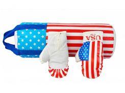 Боксерский набор Danko Toys Америка L-USA размер большой Разноцветный (37-SAN004)