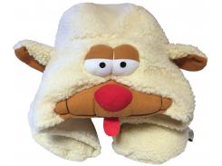 Подушка Organic Toys для путешествий с капюшоном Белый (20402)