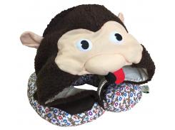 Подушка Organic Toys для путешествий с капюшоном Коричневый (20501)