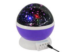 Ночник-проектор Star Master Dream Purple (508-01)