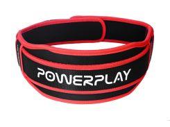 Пояс для важкої атлетики PowerPlay 5545 XL Чорно-червоний (PP_5545_XL_Red)