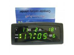 Настольные часы VST-909 Черный (200666)