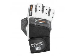 Перчатки для фитнеса и тяжелой атлетики Power System No Compromise PS-2700 S Grey/White (VZ55PS-2700_S_Grey-White)