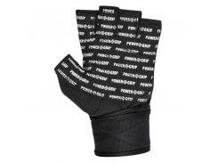 Перчатки для фитнеса и тяжелой атлетики Power System Power Grip PS-2800 XS Black (VZ55PS-2800_XS_Black)