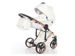 Универсальная коляска 2 в 1 TAKO Junama Diamond Individual 06 Белая с медной рамой (24-JD-IN-06)
