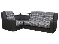 Угловой диван Garnitur.plus Винстон серый 270 см (DP-388)