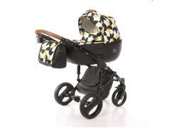 Детская коляска 2 в 1 Tako Junama Cosatto PacMan Черная с белым (13-JCPM)