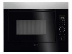Встраиваемая микроволновая печь AEG MBE 2658 S-M 900 Вт Черный (F00135748)
