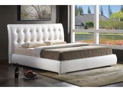 Двуспальная кровать Calenzana Signal 189 х 228 см Белый (CALENZANA160BCH)