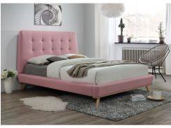 Двуспальная кровать Dona Signal 181 х 219 см Розовый (DONA160R)