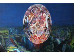 Картина интерьерная живопись Diamond II Shine On 150 х 100 см (Diamond II)