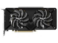 Palit PCI-Ex GeForce RTX 2060 Super Dual 8GB GDDR6 (256bit) (1470/14000) (DVI, HDMI, DisplayPort) (NE6206S018P2-1160A)