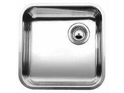кухонная мойка blanco supra 400-f сталь нерж. 512540 (wy36dnd-127742)