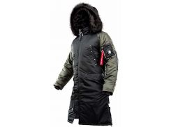Парка Airboss N-7B Shuttle Challenger 4XL Black/Beluga (Airboss-20363-4XL)