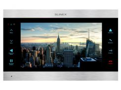 Видеодомофон Slinex SL-10IPT Silver+Black