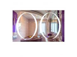 Зеркало прямоугольное с LED подсветкой SmartWorld Milena 100x140x3 см (1029-d19-100x140x3)