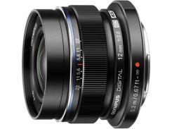 Объектив OLYMPUS EW-M1220 ED 12mm 1:2.0 Black (V311020BE001)