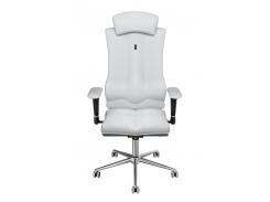 Эргономичное кресло KULIK SYSTEM ELEGANCE Белое (1004)
