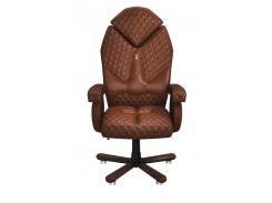 Эргономичное кресло KULIK SYSTEM DIAMOND Коричневое (101)