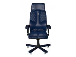 Эргономичное кресло KULIK SYSTEM CROCO Синее (1803)