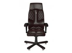 Эргономичное кресло KULIK SYSTEM CROCO Коричневое (1802)