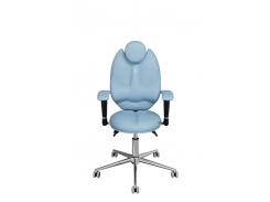 Детское эргономичное кресло KULIK SYSTEM TRIO Светло-синее (1404)